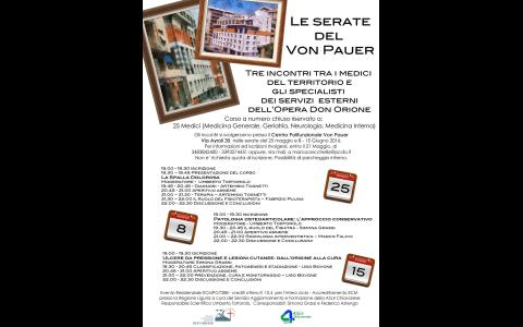 Maggio/Giugno 2016: Tre serate al Von Pauer