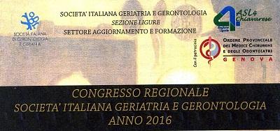 Congresso Regionale SIGG 2016